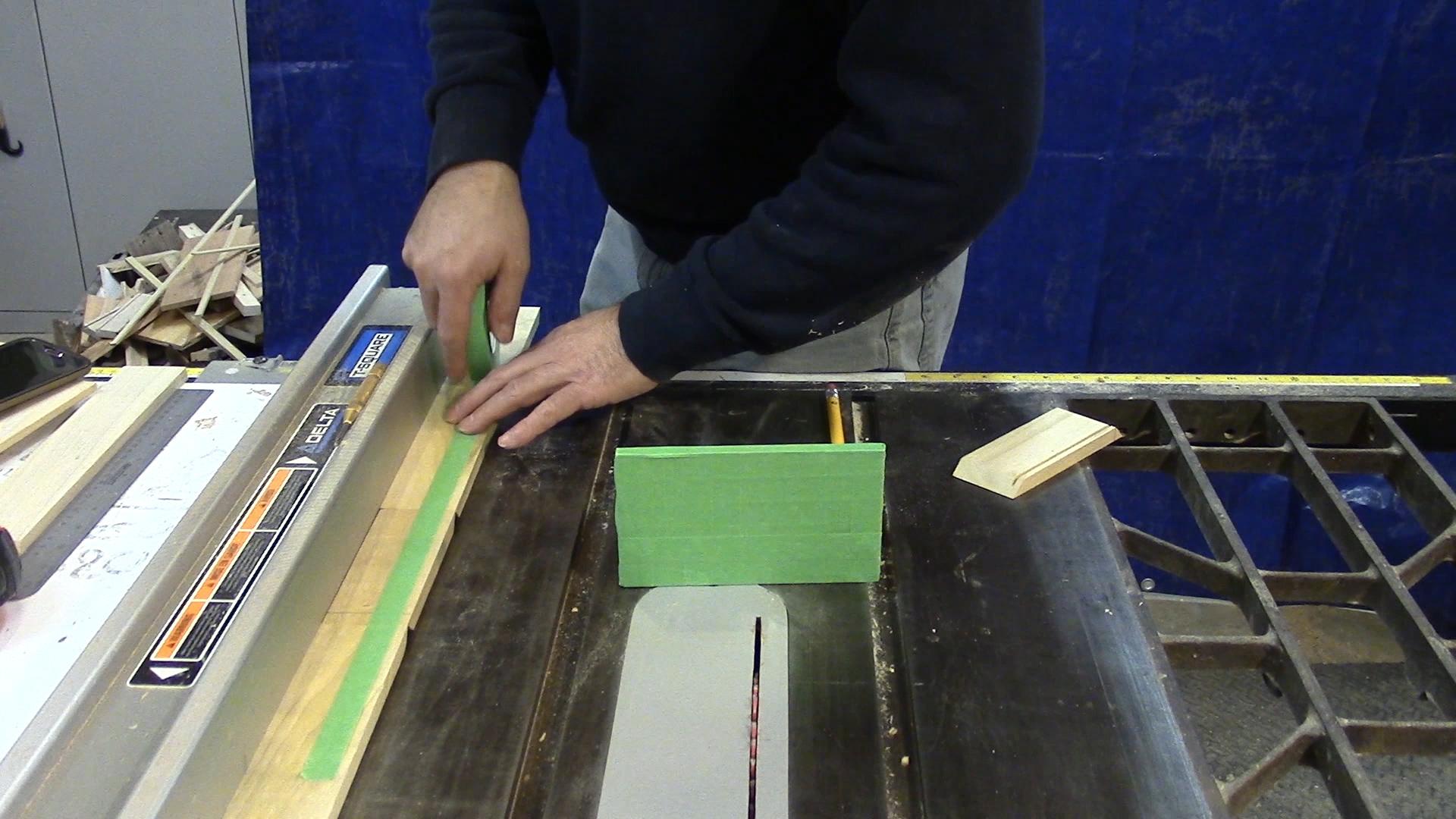 how to make a knife box